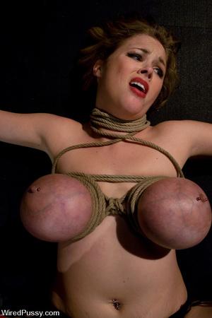 Big tits turn blue during a lesbian bond - XXX Dessert - Picture 6
