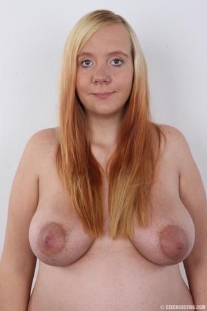 Preggo blonde dame loses pink bra and pa - XXX Dessert - Picture 8