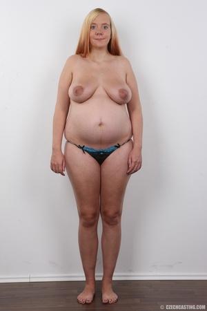 Preggo blonde dame loses pink bra and pa - XXX Dessert - Picture 11