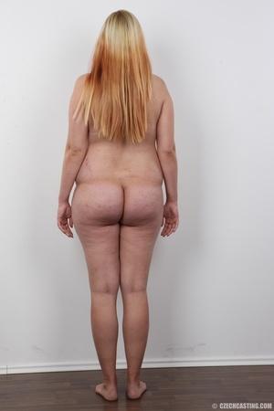 Preggo blonde dame loses pink bra and pa - XXX Dessert - Picture 16
