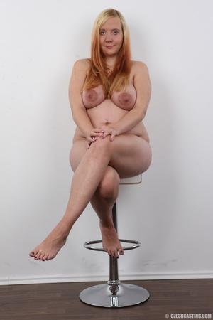 Preggo blonde dame loses pink bra and pa - XXX Dessert - Picture 18