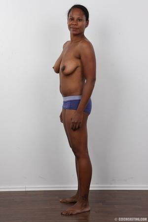 Ebony miss with floppy tits has an aesth - XXX Dessert - Picture 10