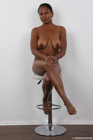 Ebony miss with floppy tits has an aesth - XXX Dessert - Picture 19