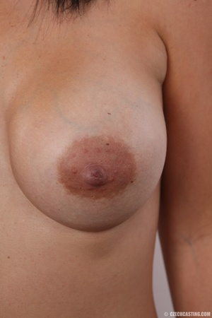 Peach bra and black panties come off bef - XXX Dessert - Picture 13