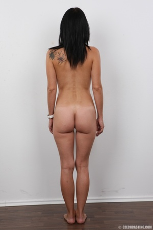 Peach bra and black panties come off bef - XXX Dessert - Picture 16