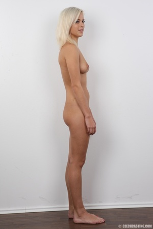 Bleach blonde with small tits and white  - XXX Dessert - Picture 15
