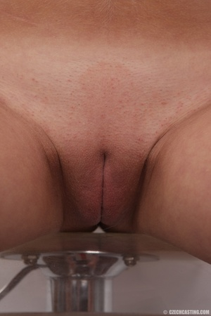 Pretty young thing with pigtails peels o - XXX Dessert - Picture 25