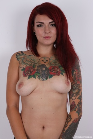 Hot body, mostly covered in ink, is auth - XXX Dessert - Picture 8