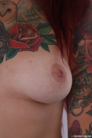 Hot body, mostly covered in ink, is auth - XXX Dessert - Picture 10