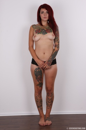 Hot body, mostly covered in ink, is auth - XXX Dessert - Picture 11