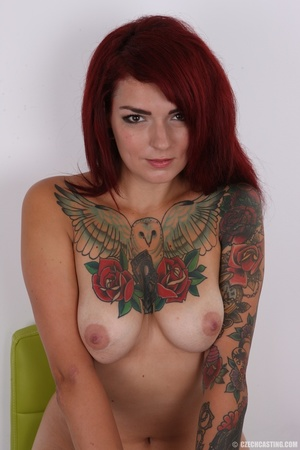 Hot body, mostly covered in ink, is auth - XXX Dessert - Picture 18