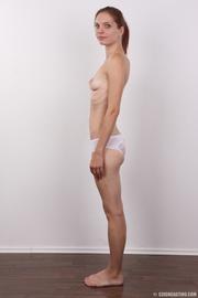 slender slut with sparse