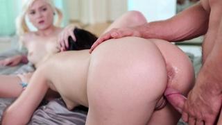 erotica, hd porn, stockings, threesome