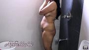 chubby lady isn't ashamed