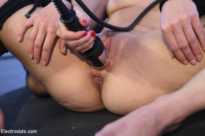Nasty blonde slave girls toyed by a horn - XXX Dessert - Picture 11