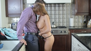 Slutty housewife with huge titties gets  - XXX Dessert - Picture 5