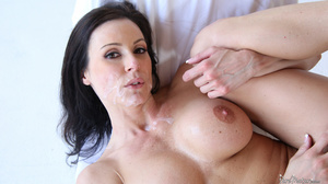 Raven haired gal with a trimmed twat get - XXX Dessert - Picture 19