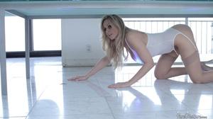 Busty blonde slut in lingerie wants some - XXX Dessert - Picture 9