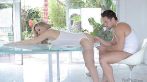 Busty blonde slut in lingerie wants some - XXX Dessert - Picture 10