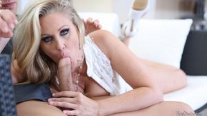 Blonde slut with big titties rides young - XXX Dessert - Picture 5