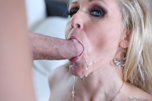 Blonde slut with big titties rides young - XXX Dessert - Picture 20