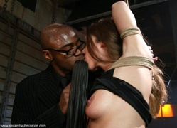 black, bondage, rough sex, tall