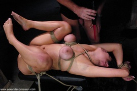 bondage, dick, latina, rough sex