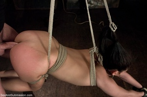 Hanged upside down cutie can't wait to f - XXX Dessert - Picture 8