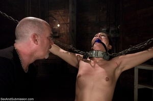 Hanged upside down cutie can't wait to f - XXX Dessert - Picture 11