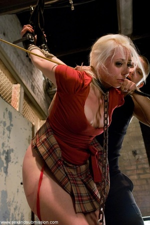 Blonde doll face enjoys the dick of her  - XXX Dessert - Picture 4