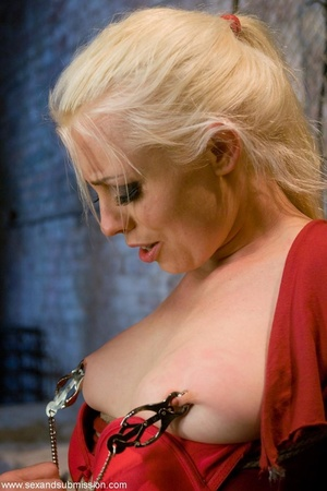 Blonde doll face enjoys the dick of her  - XXX Dessert - Picture 11