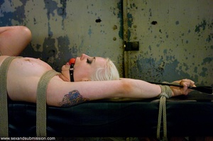 Blonde doll face enjoys the dick of her  - XXX Dessert - Picture 16