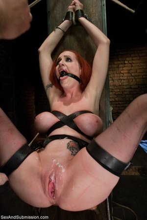 Redhead with awesome forms becomes the s - XXX Dessert - Picture 17