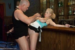 Really huge boobs of blonde bombshell tu - XXX Dessert - Picture 6