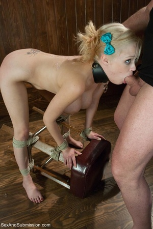 Really huge boobs of blonde bombshell tu - XXX Dessert - Picture 15
