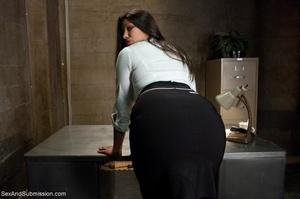 Modest lady took part in BDSM scene afte - XXX Dessert - Picture 1