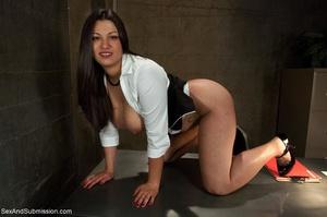 Modest lady took part in BDSM scene afte - XXX Dessert - Picture 2
