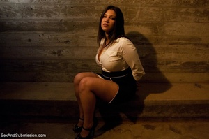Modest lady took part in BDSM scene afte - XXX Dessert - Picture 4