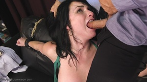 Bald inked hunk fucks a dark haired babe with so much passion - XXXonXXX - Pic 3