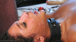Young brunette slut gets tied up and humiliated by her master - XXXonXXX - Pic 17