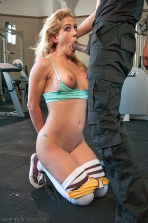 Sweet looking blonde chick gets a big black pecker in her cunt - XXXonXXX - Pic 7