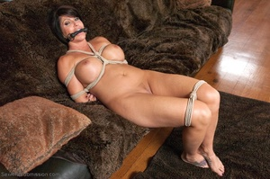 19 year old slut and her stepmom get tied up and banged - XXXonXXX - Pic 12