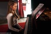 piano teacher fucks blonde