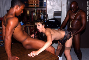 Tasty slim hairy babe in black lacy ling - XXX Dessert - Picture 13