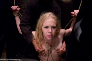 Tattooed blonde is roughed up during an  - XXX Dessert - Picture 9