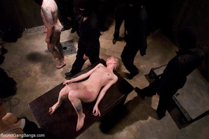Tattooed blonde is roughed up during an  - XXX Dessert - Picture 18