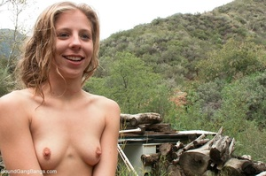 Young girls get dirty during kinky rough - XXX Dessert - Picture 18
