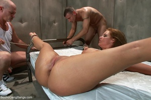 Jolly dame likes liquid love in her mout - XXX Dessert - Picture 17