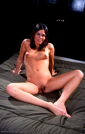 Slim blackhead slut in blue bikini takes - XXX Dessert - Picture 5