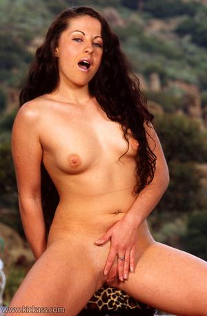 Sweet brunette slut loves to strip to ta - XXX Dessert - Picture 6